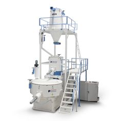 We are the foremost manufacturer of high speed Heater Cooler Mixer that is technologically cutting-edge and can be applied for mixing rigid as well as plasticized PVC dry mixtures, of varied capacities. These offer steady and consistent heating and cooling operations