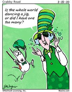 the whole world dancing a jig | Maxine for 2010-03-18