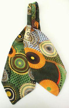 KrawattenschalAscot in modischem grün von pinkmagnolia2303 auf Etsy