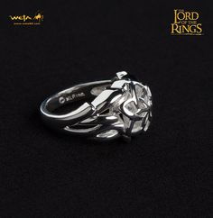 Nenya - the Ring of Galadriel - Sterling Silver