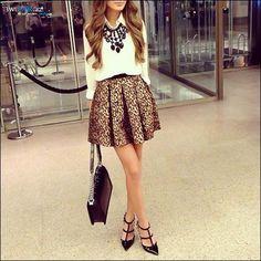 Un outfit de infarto sin perder la elegancia
