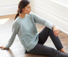 Pure Jill seamed sweater