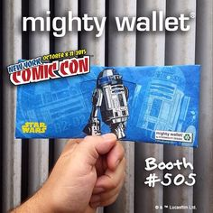 It's #FRIDAY!!! And Day 2 of #NewYorkComicCon. Find us at booth #505. Don't forget #tonight join us at #StMarksComics for #StarWars Trivia from 8pm - 10pm. #FREE admission FREE food FREE #mightywallet to anyone dressed in star wars #cosplay. #NYCC2015