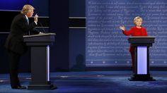 Entre risas y miedo se desarrolló el debate entre Clinton y Trump - #Cultura, #Memes, #Noticias  http://www.vivavive.com/entre-risas-y-miedo-se-desarrollo-el-debate-entre-clinton-y-trump/