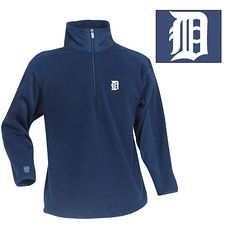 Detroit Tigers Youth Frost Pullover Fleece by Antigua