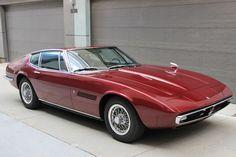 1968 Maserati Ghibli Coupe AM 115 - Ferraris Online Maserati 3200 Gt, Maserati Car, Ferrari Car, Bugatti, Maserati Ghibli, Buy Classic Cars, Classic Italian, Exotic Cars, Cars