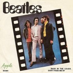 1969-03 The Beatles release Back in the USSR and Don;t Pass by Me as a single, Sweedish cover