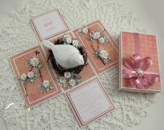 explosion cards and boxes | Exploding box with a bird by Monia - Cards and ... | EXPLOSION BOXES