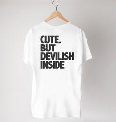 Cute. But Devilish Inside w Way Back na DaWanda.com