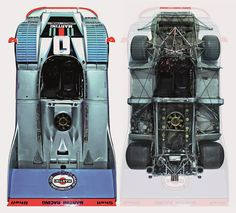 Porsche 917/20 Turbo: because normally aspirated isn't insane enough. Oh, and a short wheelbase so it breaks loose fast.