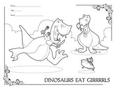 This is my favorite coloring sheet ever.
