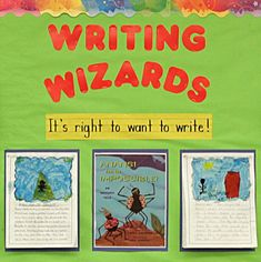 The Writing Wizards Portfolio Wall tracks the students progress over the span of the year. Through the tracking and celebration of progress, students motivation is increased. Students will have goals to enhance their writing skills as it will be tracked.