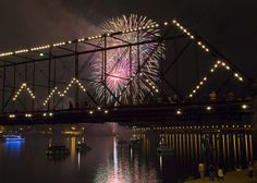 The Kipona Labor Day Fireworks, part of the 3 day festival along the Susquehanna River in Harrisburg, took place at dusk on Sunday evening August, 31 2014.  Daniel Zampogna, PennLive