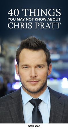 40 Things You May Not Know About Chris Pratt Star Lord, Hot Actors, Actors & Actresses, Handsome Actors, Hottest Male Celebrities, Celebs, Andy Dwyer, Attractive Men, Chris Evans