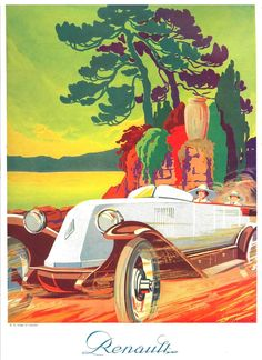 https://flic.kr/p/dRB76m   The 1920s-1924 ad for Renault car
