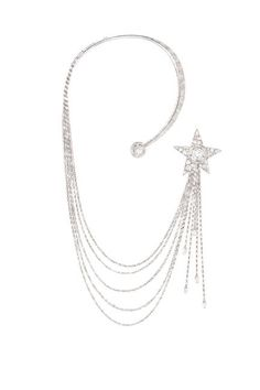 Chanel The 1932 Collection.  The Etoile Filante necklace in 18k white gold