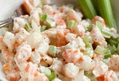Browse our home and garden articles for fresh ideas on gardening, recipes, DIY projects, and home and garden needs. Shrimp Tacos, Shrimp Salad, Pasta Salad, Side Dish Recipes, Side Dishes, Potato Salad, Seafood, Appetizers, Cooking Recipes
