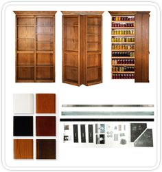 Different Colors For A Hidden Door Bookshelf For Sale In