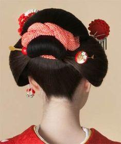 Kyoto Japan Things To Do In - Japan Landscape Night - - Japan Street Traditional Japanese Hairstyle Traditional, Traditional Outfits, Yukata, Costume Japonais, Geisha Hair, Geisha Makeup, Eye Makeup, Style Du Japon, Geisha Japan