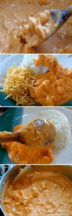 Strogonoff de Pollo el sabor más deseado en el mundo! #stroganoff #strogonoff #pechugas #champion #champiñones #arroz #patate #patatas #papas #nata #crema #cremadeleche #pollo #escabeche #ensaladas #zanahoria #laurel #puerro #vino #oregano #pimienta #sal #tomatoes #tomatosoup #tomate #tomates #tomateseco #comohacer #rellenos #salud #saludable #salad #receta #recipe #tasty #food Si te gusta dinos HOLA y dale a Me Gusta MIREN…
