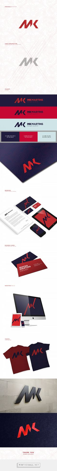 Personal Branding - MK Martins on Behance... - a grouped images picture - Pin Them All
