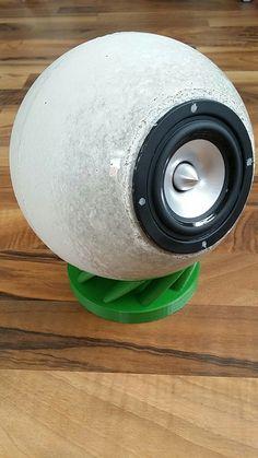 Diy concrete speaker
