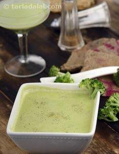Broccoli Soup ( Calcium Rich)