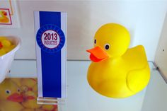 Brief history of rubber ducks, now in the Nat'l Toy Hall of Fame