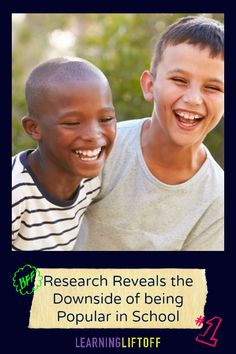 recent study says kids who have a small circle of close friends may grow up to be happier than popular kids. Small Circle, Student Success, Close Friends, What Inspires You, School S, Early Learning, Educational Technology, Fun Activities, Growing Up