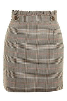 Heritage Checked Frill Skirt