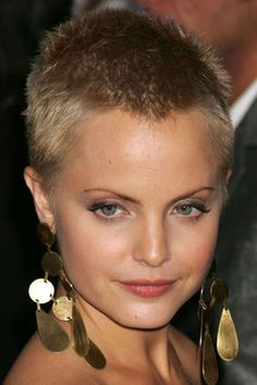 super short hairstyles 2013   Picture of 2013 Edgy Buzz Cut Hairstyle For Women Hairstyles 2013 Hair ...