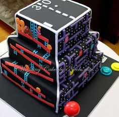 Donkey Kong, Pac-Man, Pong, Frogger, And Tetris: This Gamer's Wedding Cake Is Amazing #ZAGGdaily