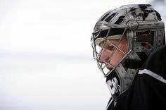 Los Angeles Kings goaltender Jonathan Quick, Vezina Trophy nominee, Conn Smythe Trophy winner and Stanley Cup Champion!