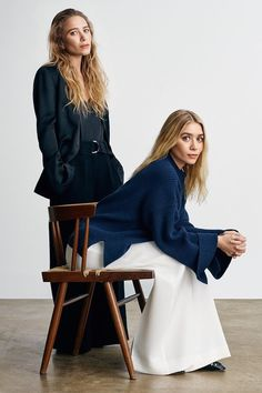 The Olsen Twins' New Net-A-Porter Shoot Is A Minimalist's Dream