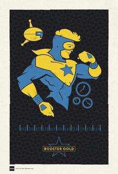 DC Superhero Profiles: Booster Gold by Luke Daab