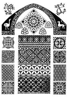 готический орнамент