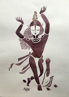 Ananda. #watercolour #krishnafortoday