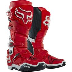 Fox is the leader in motocross and mountain bike gear, and the apparel choice of action sports athletes worldwide. Shop now from the Official Fox Racing® Online store. Dirt Bike Boots, Mx Boots, Dirt Bike Gear, Motocross Gear, Biker Boots, Motorcycle Boots, Atv Gear, Dirt Biking, Fox Racing