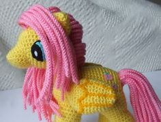 Good Friday Everyone! This week for Fantasy Friday I am sharing this free pattern by 'Knit One Awe Some' for My Little Ponies. I loved these as a child! As a child of the early 80s I remember my li...
