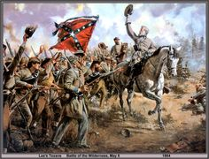 'Lee's Texans, Battle of the Wilderness' by Don Troiani