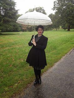 Fancy Dresscapades: Swing coat on a rainy bank holiday