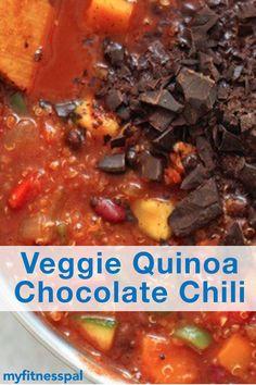 Fluffy quinoa and te