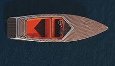 Un bateau électrique, au look classique