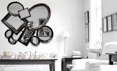 25 Stunning Wall mirrors Decor Ideas for Your Home | See more @ http://diningandlivingroom.com/stunning-wall-mirrors-decor-ideas-home/