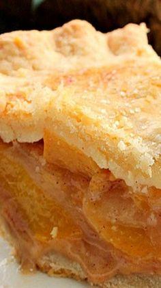 Perfect Peach Pie.