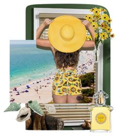 """beach"" by bi-lv on Polyvore featuring art"