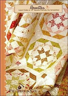 Fig Tree Quilts: Rosettes - Quilt in a Day / Quilt Patterns