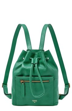Fossil Vickery Drawstring Backpack | Purses and Bags | Pinterest ...