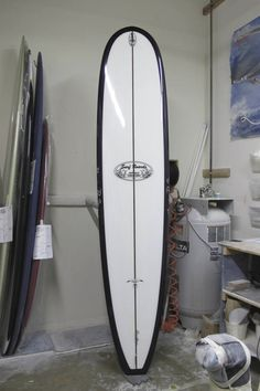 TAKAYAMA In the Pink longboard shaped by Californian Shaper : FOR SALE AT SPYDER Surf Shop