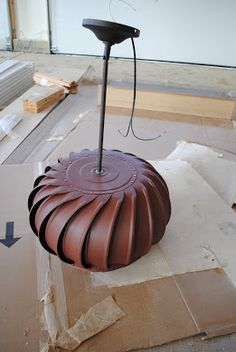 Wind Turbine Light Fixture Tutorial | So You Think You're CraftySo You Think You're Crafty